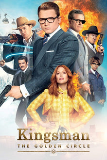 Kingsman: The Golden Circle HD (MA/Vudu)