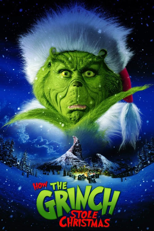 Dr. Seuss' How the Grinch Stole Christmas - 4K (iTunes)