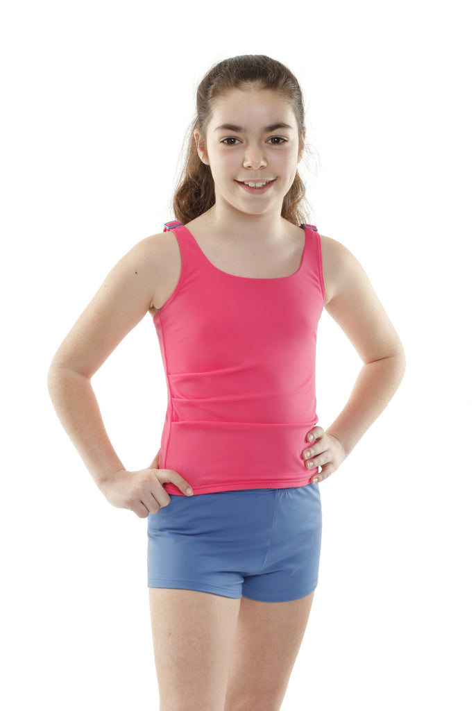 Kes-Vir Girl's Tankini with shorts - Incy Wincy Swimstore