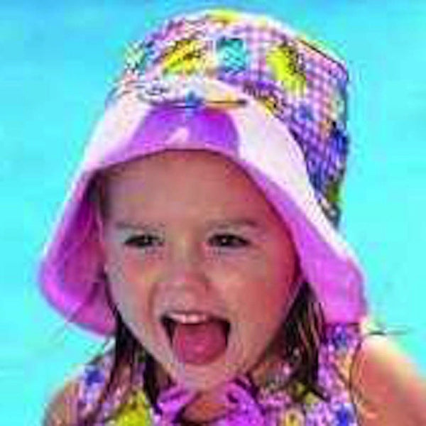 Sun protection hat for girls under 4 years old