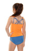 Kes-Vir Girl's Tankini with briefs
