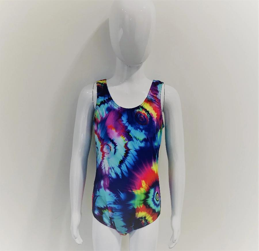 Hi Line Girls Swimsuit in Tie Dye - Incy Wincy Swimstore