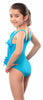 Kes-Vir Girls Waterfall Swimsuit
