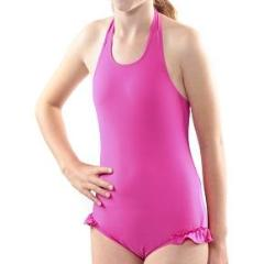 Kes-Vir Halterneck with leg frill - Incy Wincy Swimstore