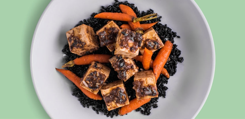 Braised Tofu in Black Bean Sauce