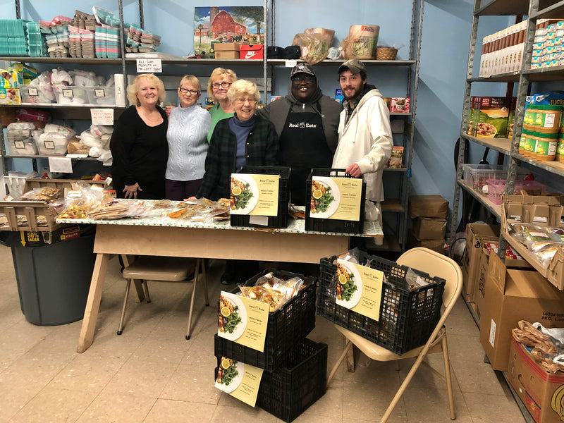 The Goodness of Giving: RealEats Donates Real Food to the Geneva Center of Concern