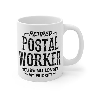 Retired Postal Worker Coffee Mug 11oz