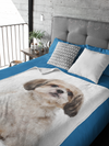 Shih Tzu Blanket, Dog Lover Gift, Fleece Blanket, Gifts, Personalized Blanket