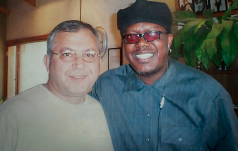 Pasquale Fabrizio and Bernie Mac