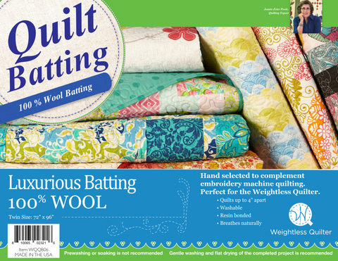 100% Wool Batting
