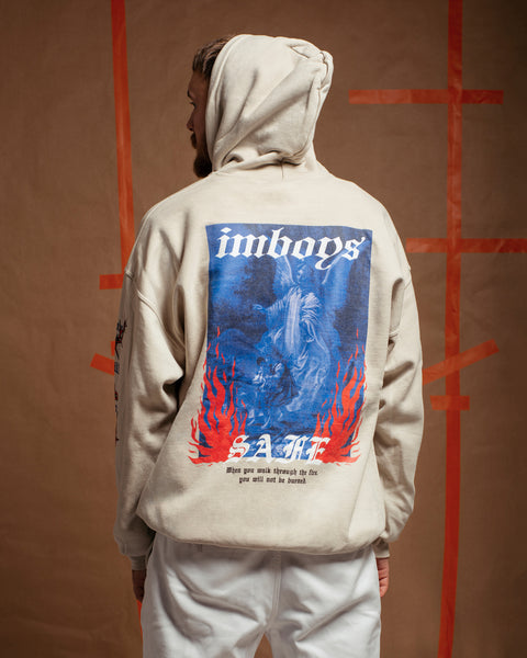 Imboys Safe hoodie - Through the fire