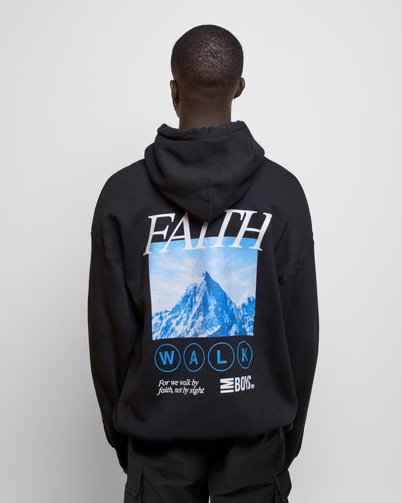 Imboys Faith Walk hoodie Black back