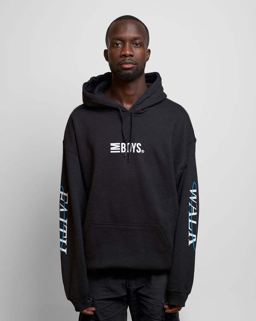 Imboys Faith Walk hoodie Black front