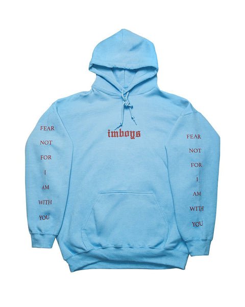 Fear not hoodie - Carolina Blue