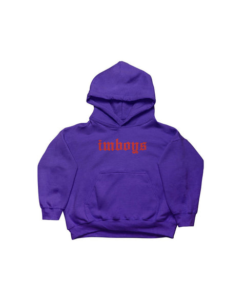 Fear not hoodie - Baby - Purple