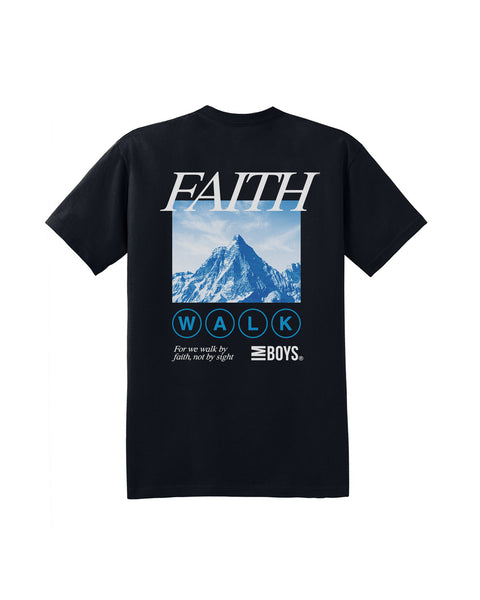 Faith Walk Tee - Black