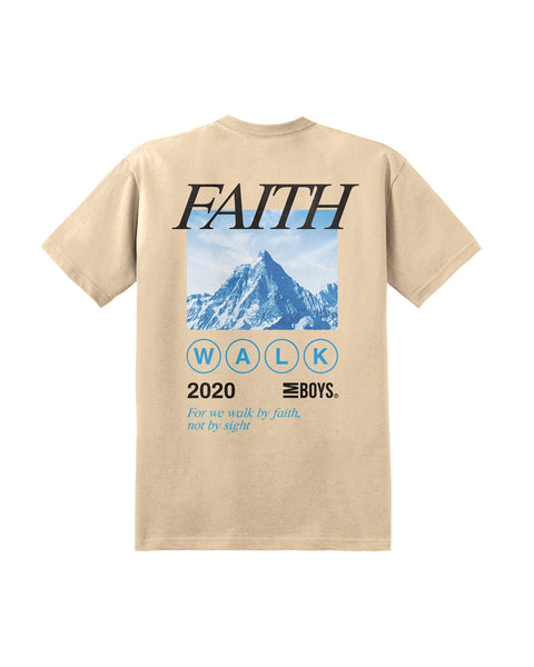 Faith Walk Tee - Khaki