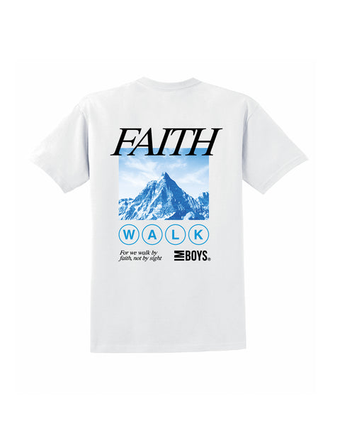 Faith Walk Tee - White