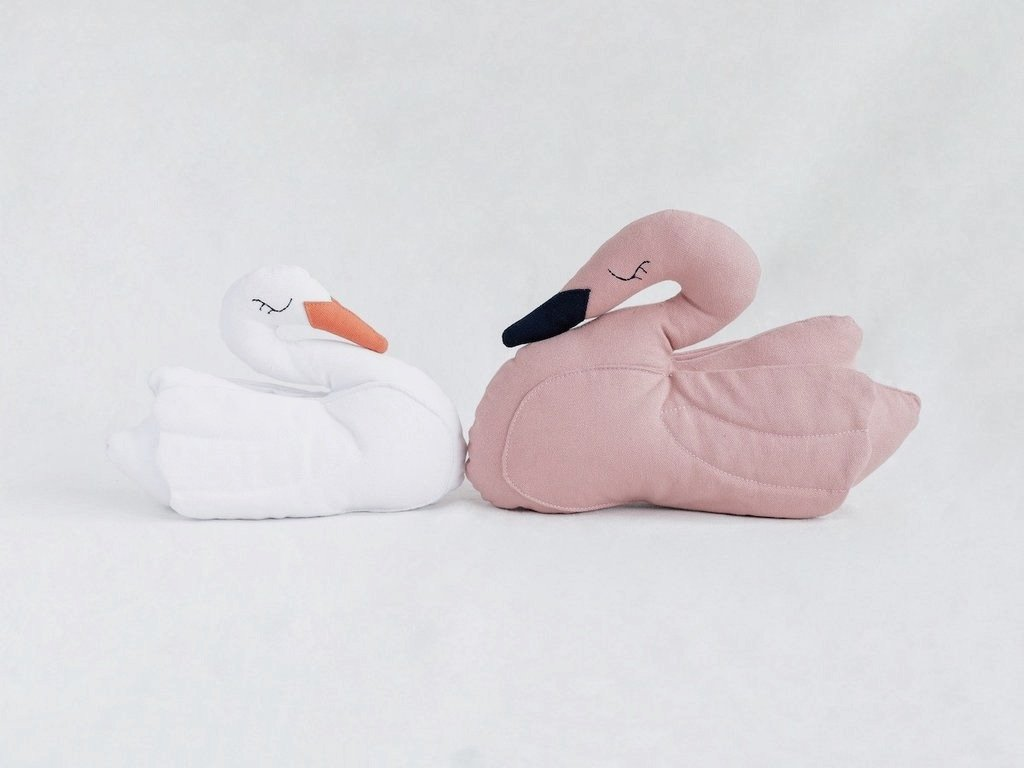 Swan Pillow by Fun Nest