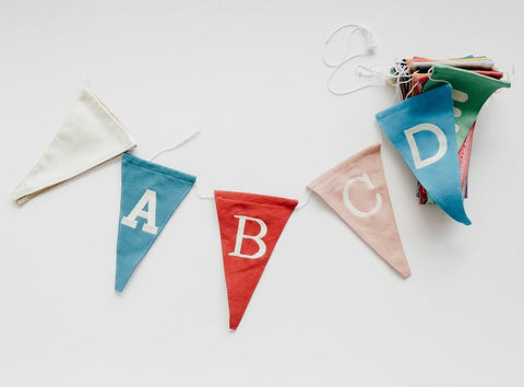 Personalized Canvas Bunting