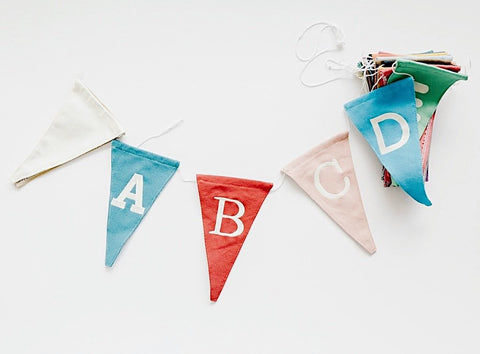 personalized bunting for nursery by funnest