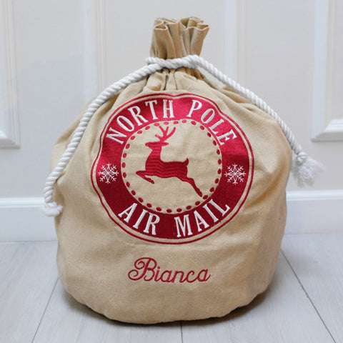 Santa Sacks (canvas)