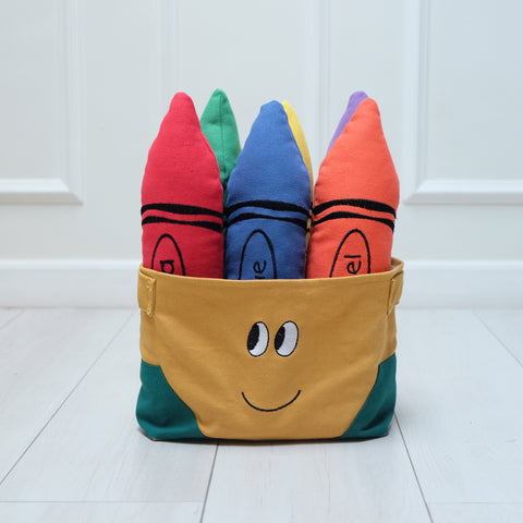 Crayon Pillow Set