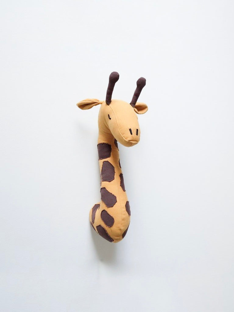 Giraffe head wall decal by FUnnest