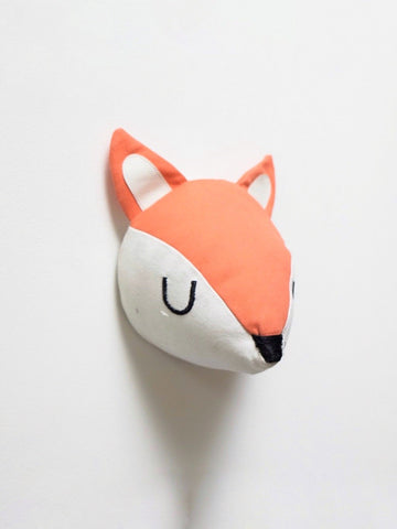 Fox head wall decal by funnest