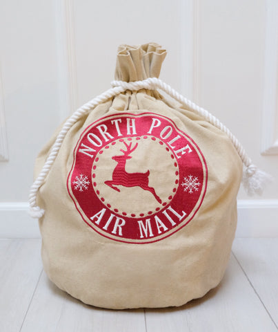 Santa Sack - Classic Air Mail