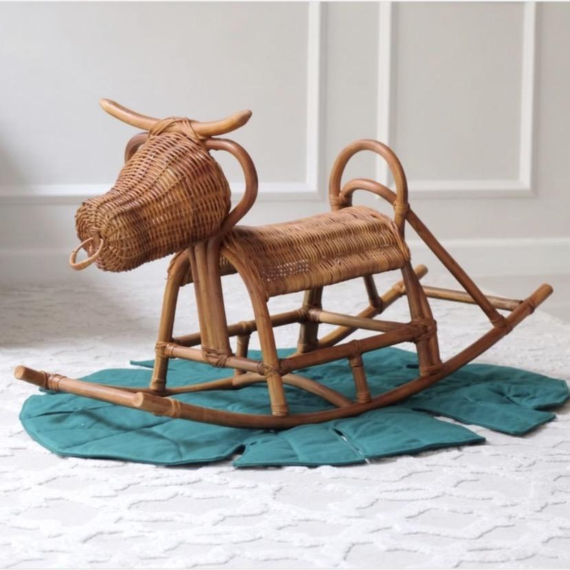 Kalabaw rocker made of rattan by Funnest