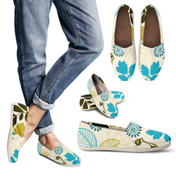 Retro Garden Women's Espadrille Shoes