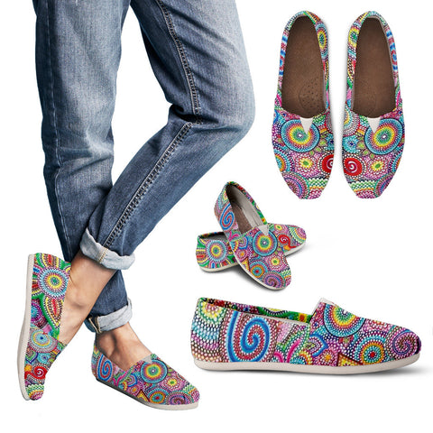 Bohemian Mosaic Women's Espadrille Shoes