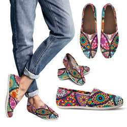 Bohemian Circles Women's Espadrille Shoes