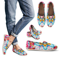 Bohemian Stained Glass Women's Espadrille Shoes