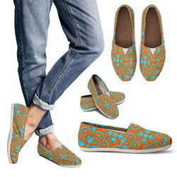 Bohemian Turquoise Peel Women's Espadrille Shoes