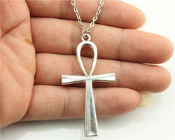 Ankh Cross Pendant Necklace