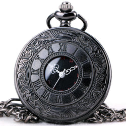 TOP LUXURY Quartz Roman Gothic Style Pocket Watch