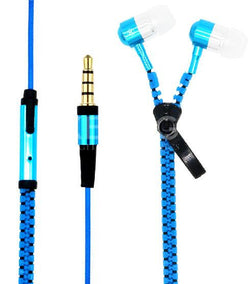 Zipper Earphone with Microphone