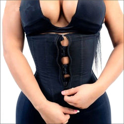 Body Shaper Latex Waist Trainer with Zipper