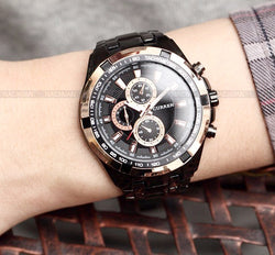 Top Luxury Brand Sports Watches Men's Quartz Wrist Watch