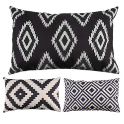 Geometric Decorative Rectangle Throw Pillow Case Cushion Cover