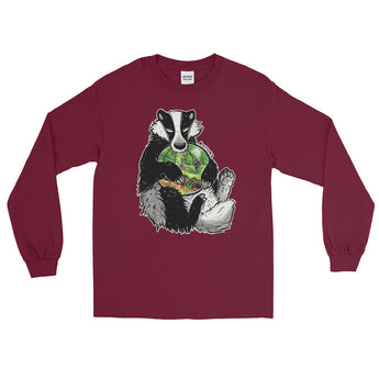 Badger Does Care Long Sleeve T-Shirt