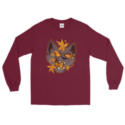Fall Cat Long Sleeve Shirt