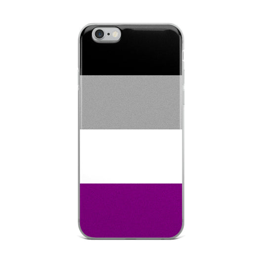 Asexual Pride iPhone Case