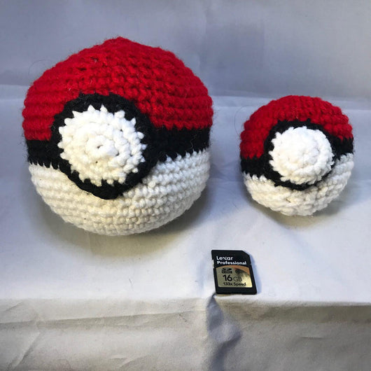 Pokeball Plushie