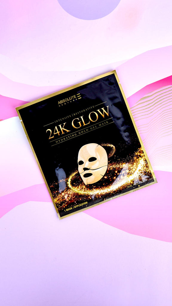 24K Glow Hydrating Gel Mask