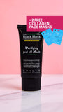 Purifying Peel-Off Mask + 2 FREE COLLAGEN FACE MASKS
