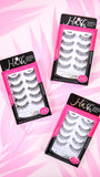 False Lashes Pack of 5