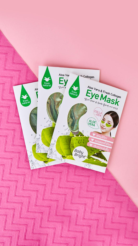 Aloe Vera & Collagen Eye Mask (Pack of 3)